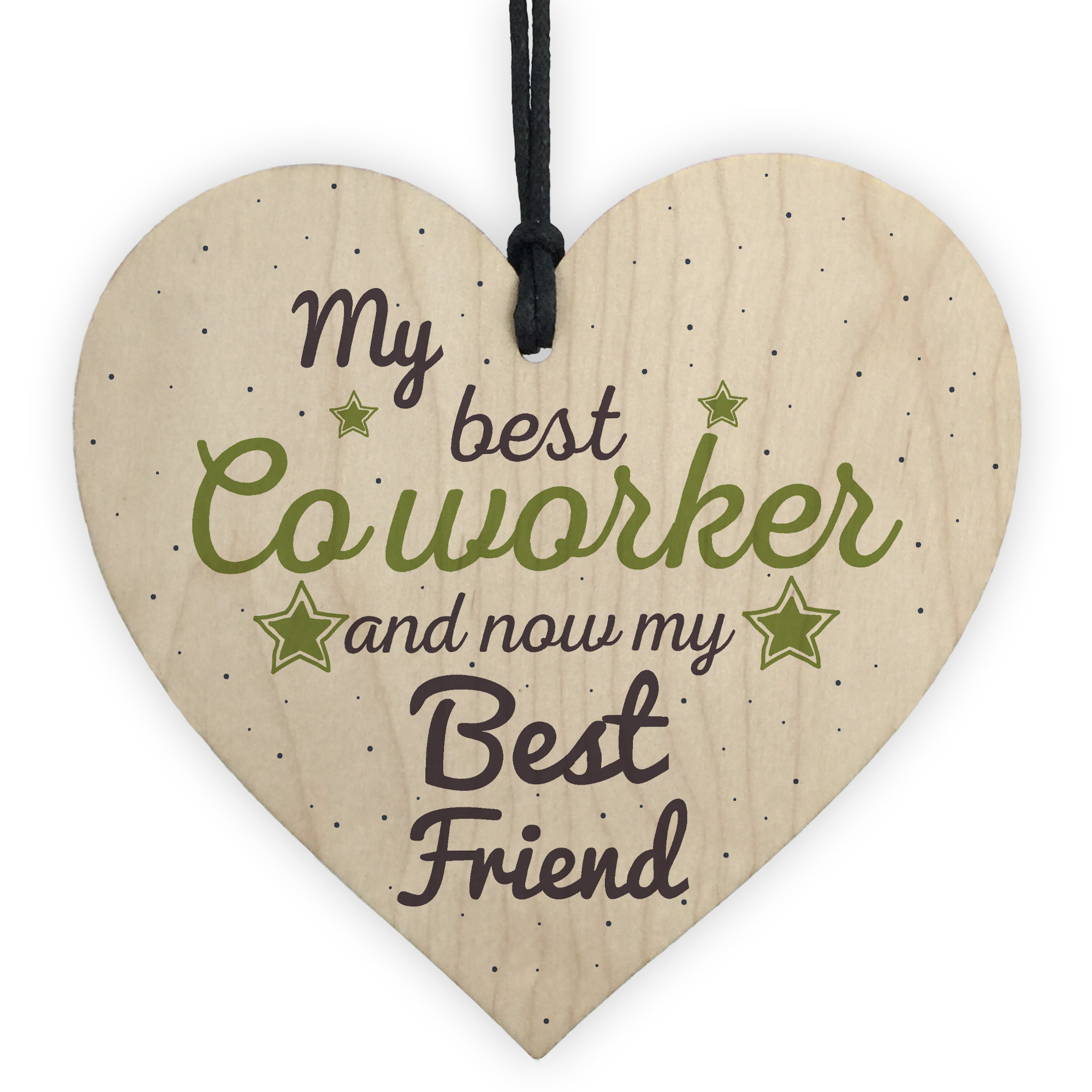 Details About Handmade Colleague Heart Sign Co Worker Birthday Gift Best Friend Thank You