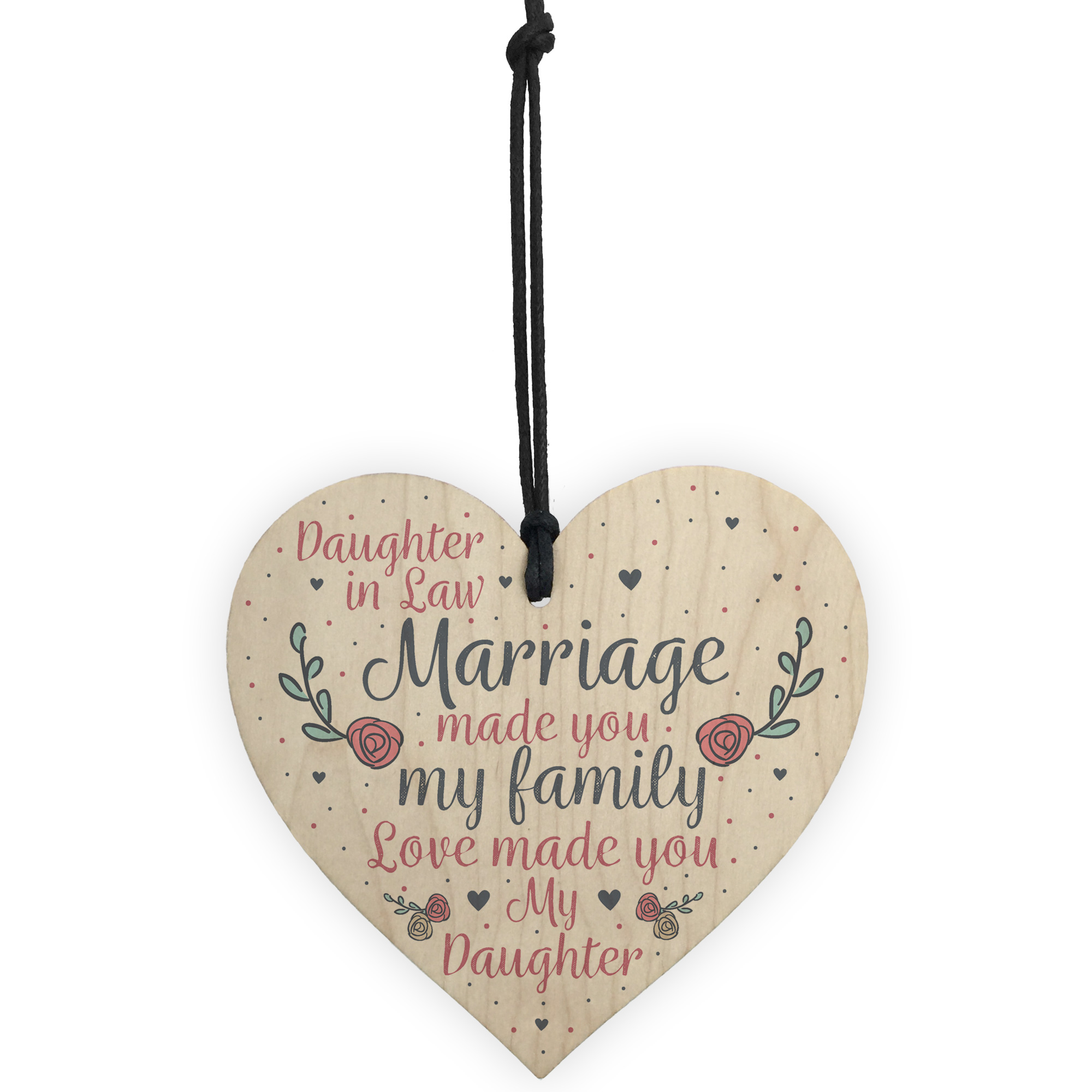 Mother Daughter Wedding Gifts: Wood Plaque Mother Daughter In Law Gift Wedding Gift