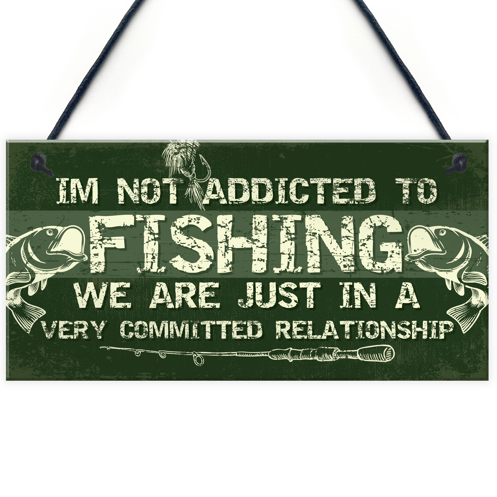 Details About Funny Fishing Gifts Plaque Perfect Birthday Christmas For Dad Grandad