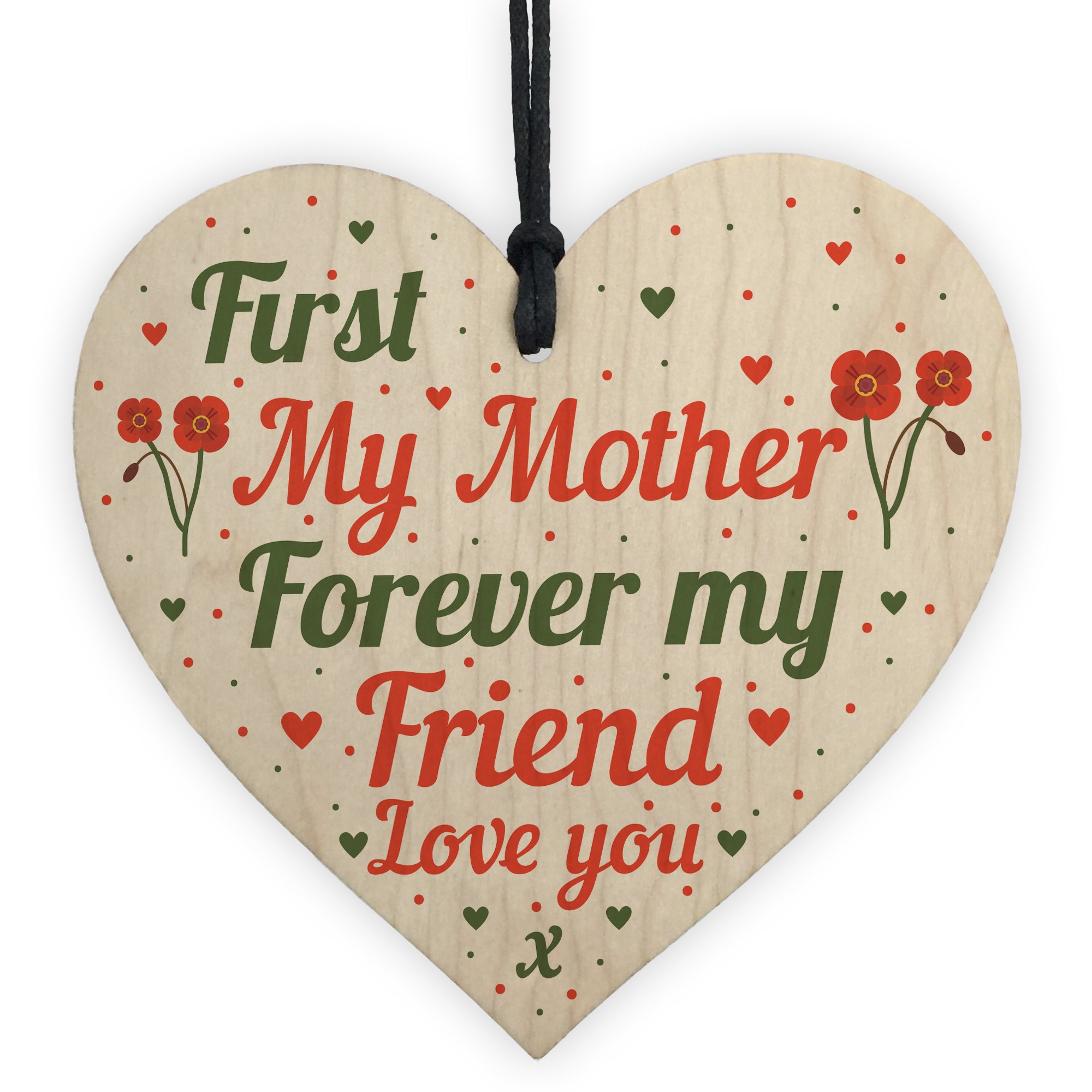 shabby vintage chic mum and son boy sign plaque gift birthday mother sign