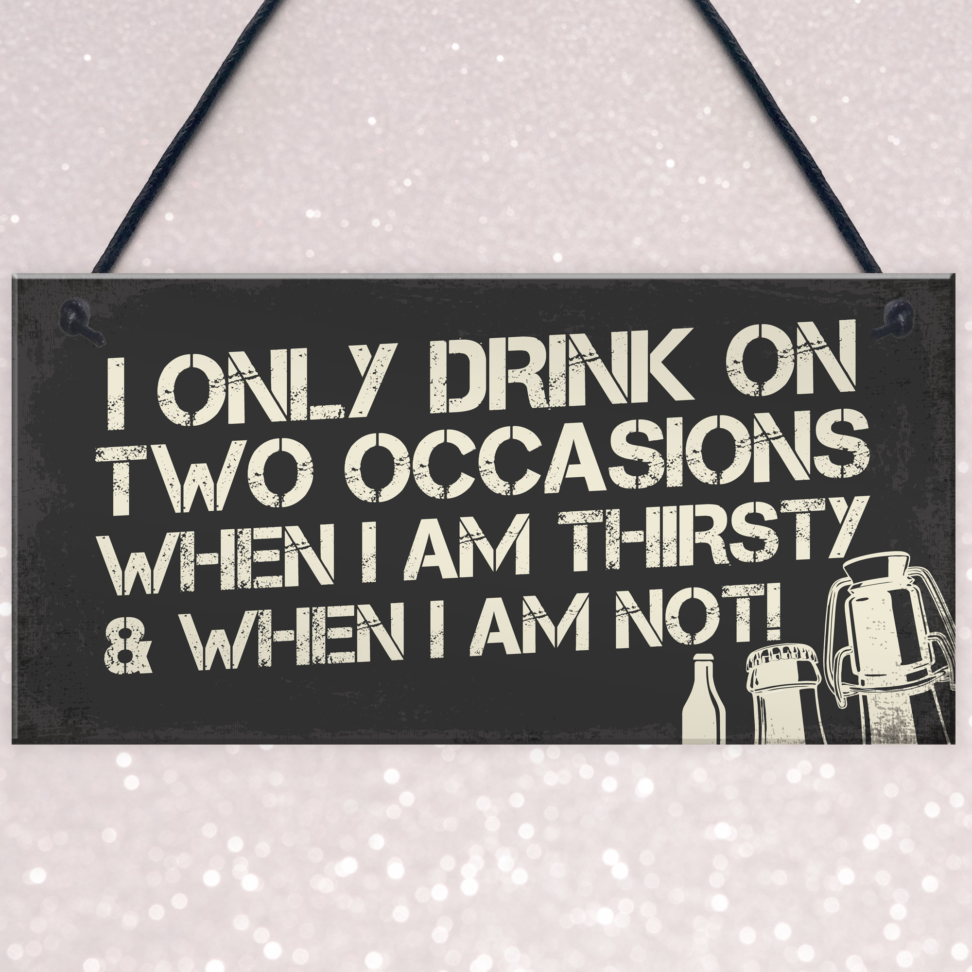 Funny Home Bar Signs And Plaques Alcohol Man Cave Gifts Sign For