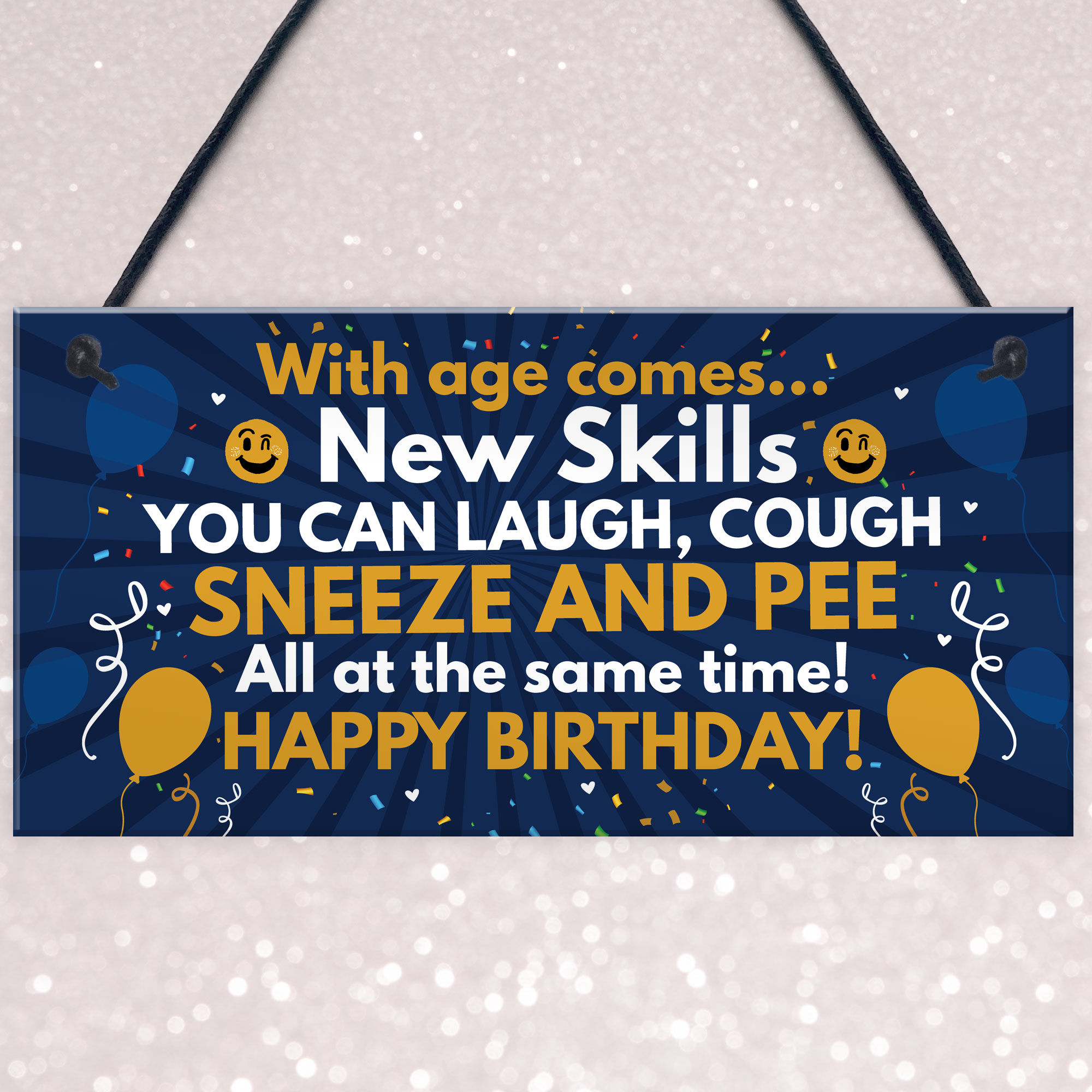 Details About Funny 40th 50th 60th Birthday Gifts For Men Women Decorations Plaque
