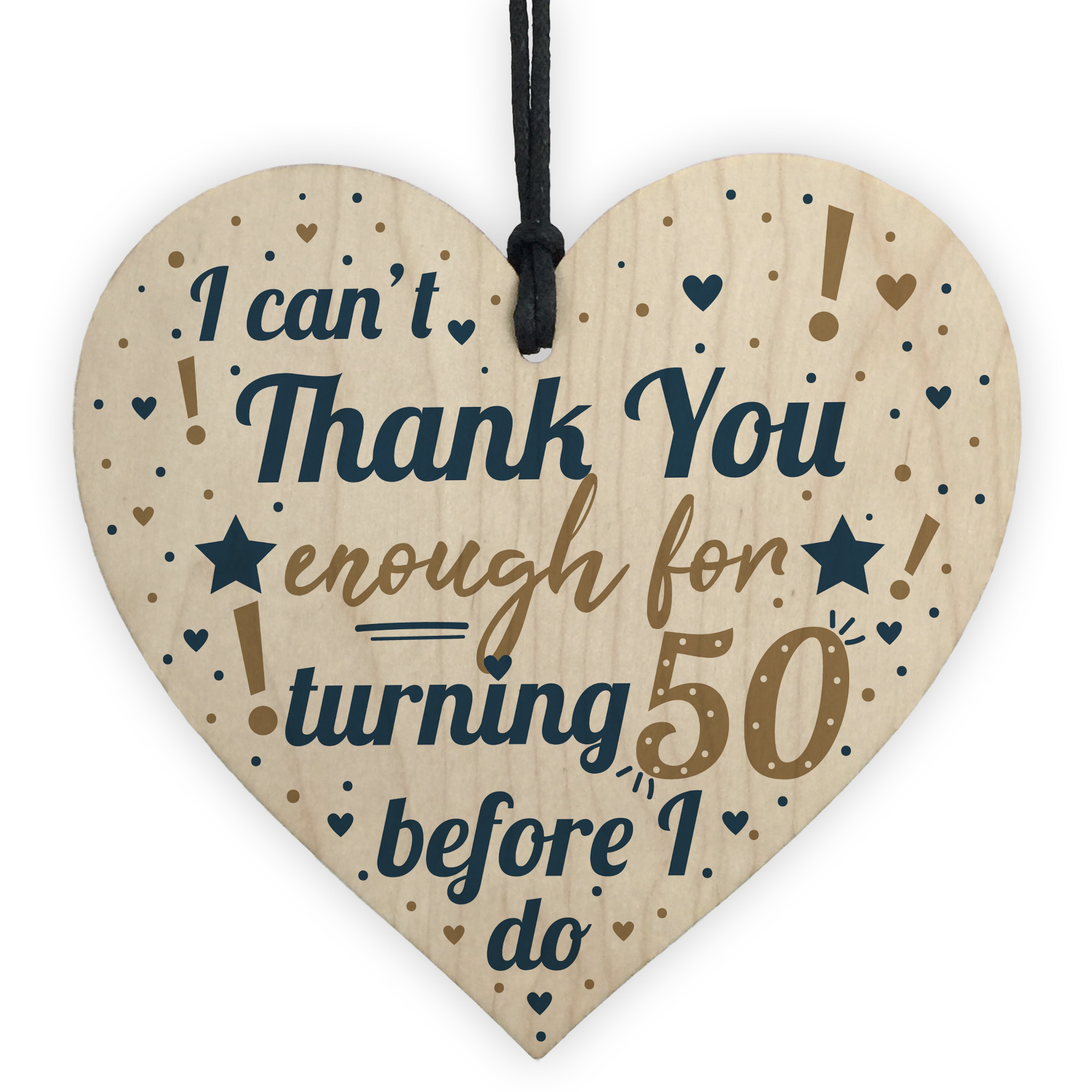 Details About Funny 50th Birthday Present For Women Gifts Men Card
