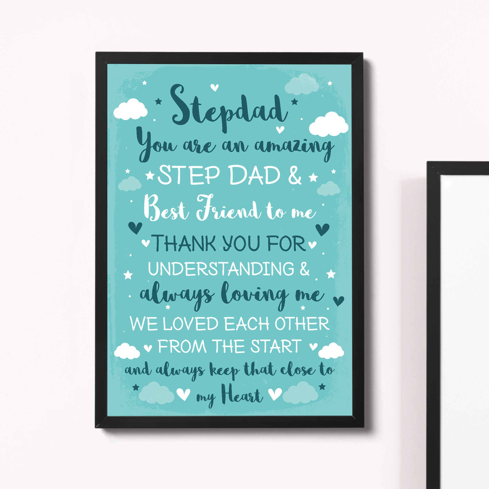Details About Step Dad Fathers Day Gifts Birthday For From Daughter